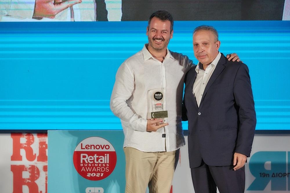 Κ. Γεράρδος Ε. Παπαλιός Πλαίσιο Retailer of the Year